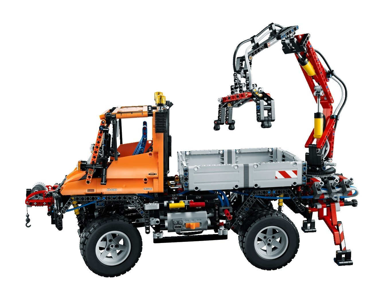 lego technic unimog kinderclub. Black Bedroom Furniture Sets. Home Design Ideas